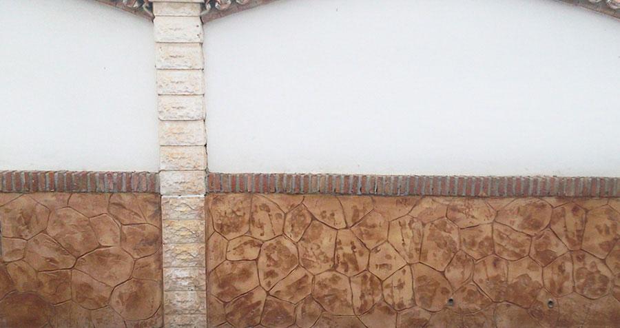 muros Hormigón vertical