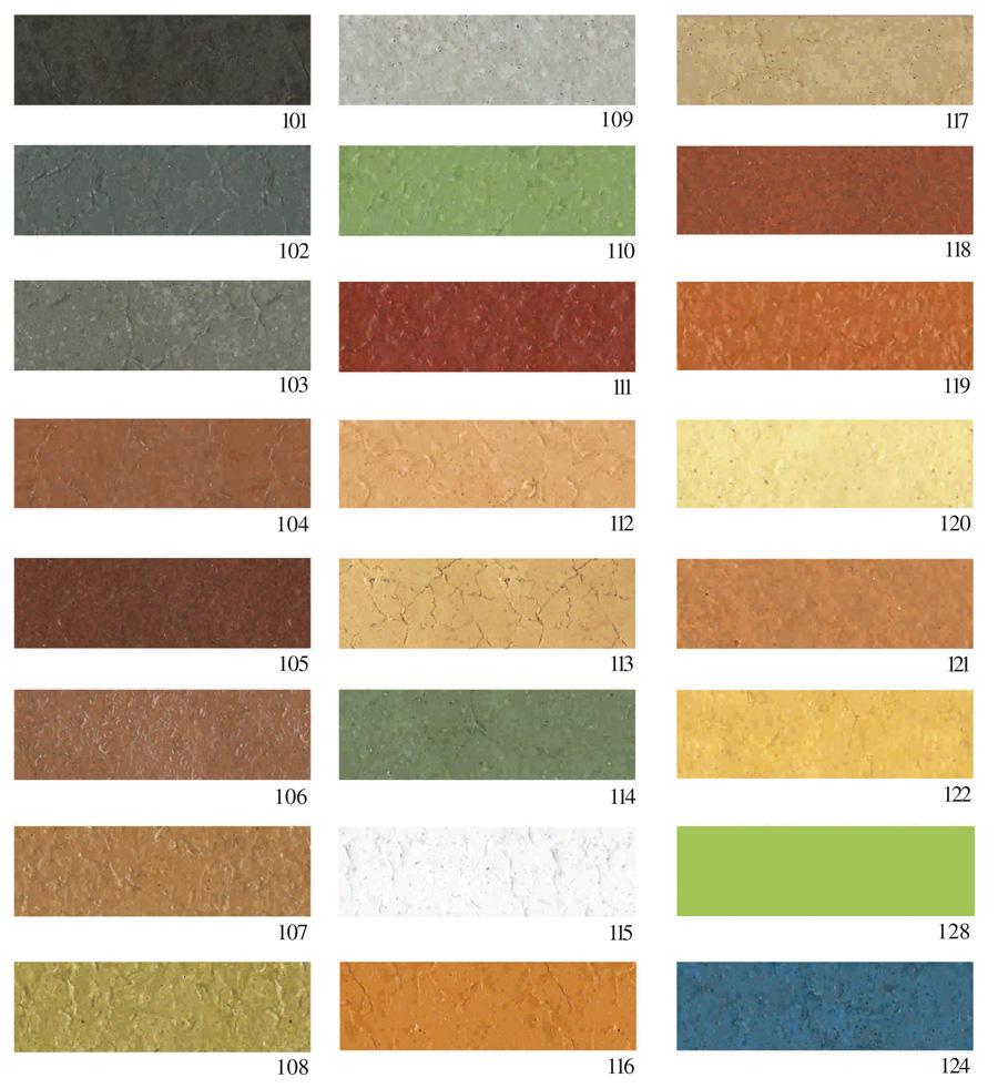 colores del hormigon