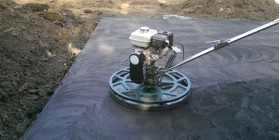 pavimento de hormigón pulido para exterior