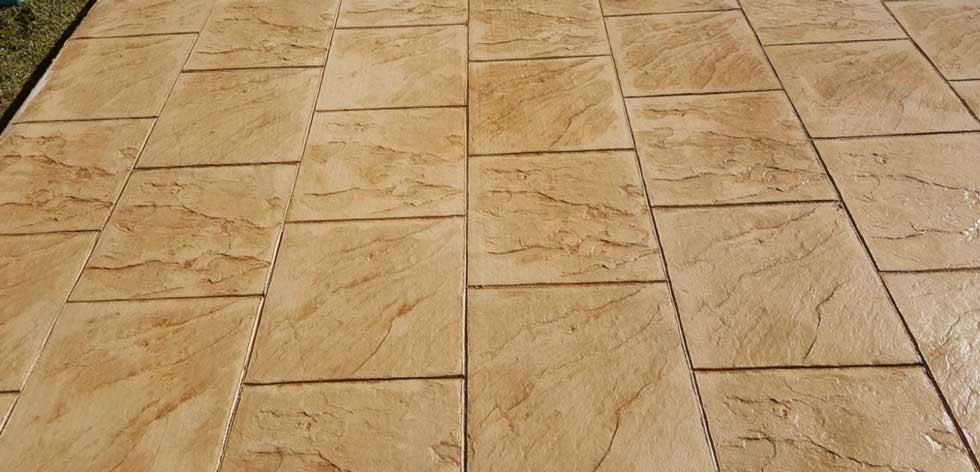 pavimento impreso piedra inglesa en madrid