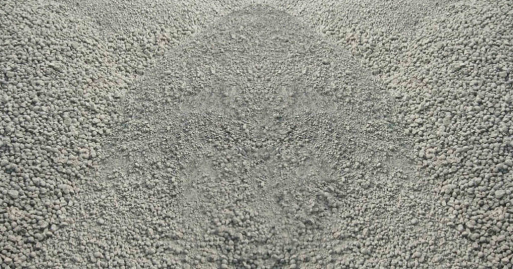 hormigón seco