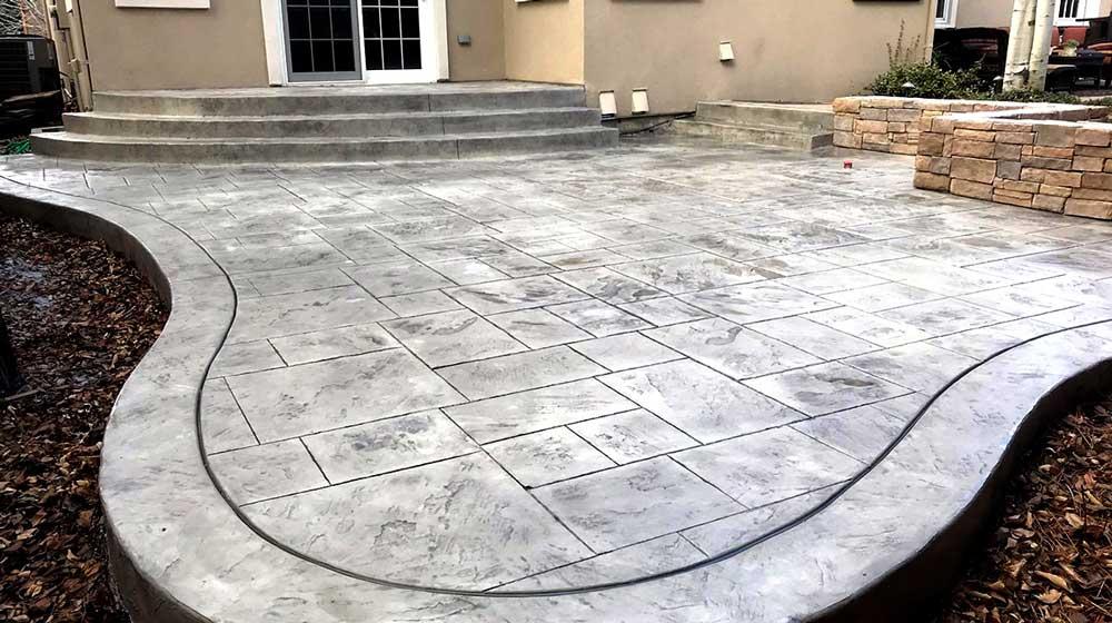 pavimentos de hormigón impreso en badajoz