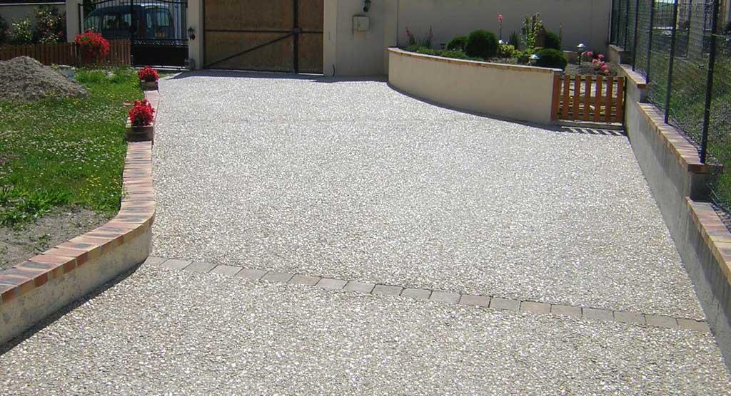suelo para exterior en Hormigón desactivado