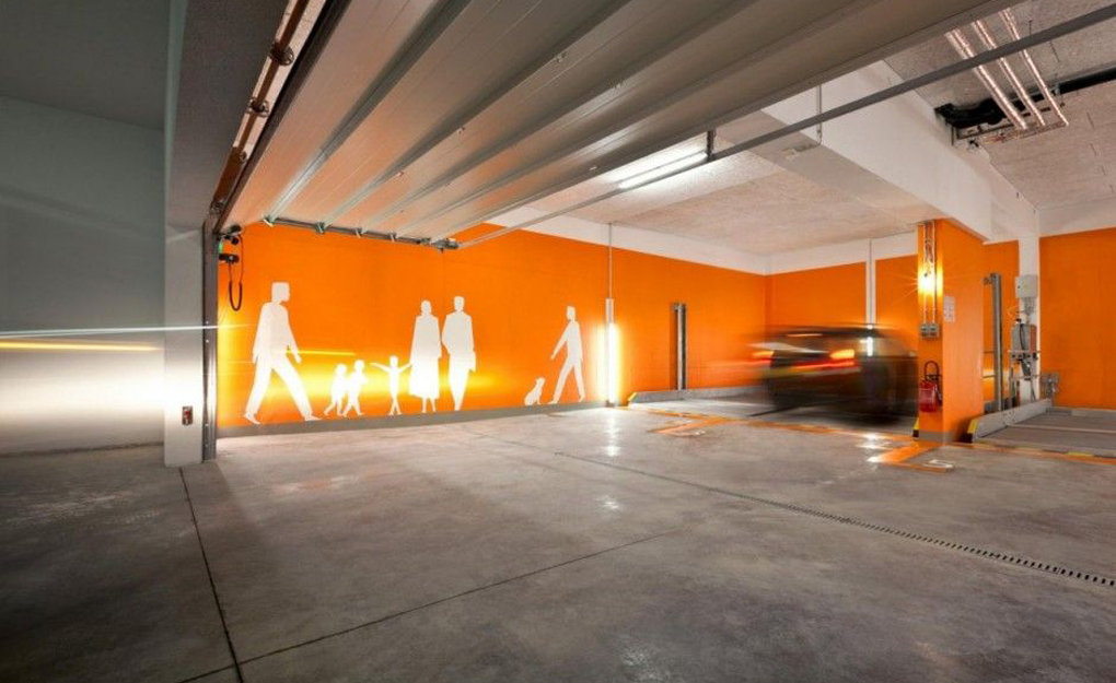 Hormigón pulido para garaje