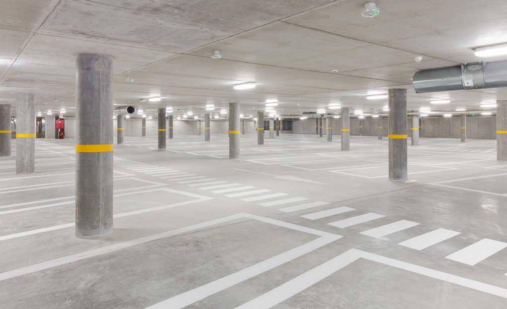pavimento garaje parking