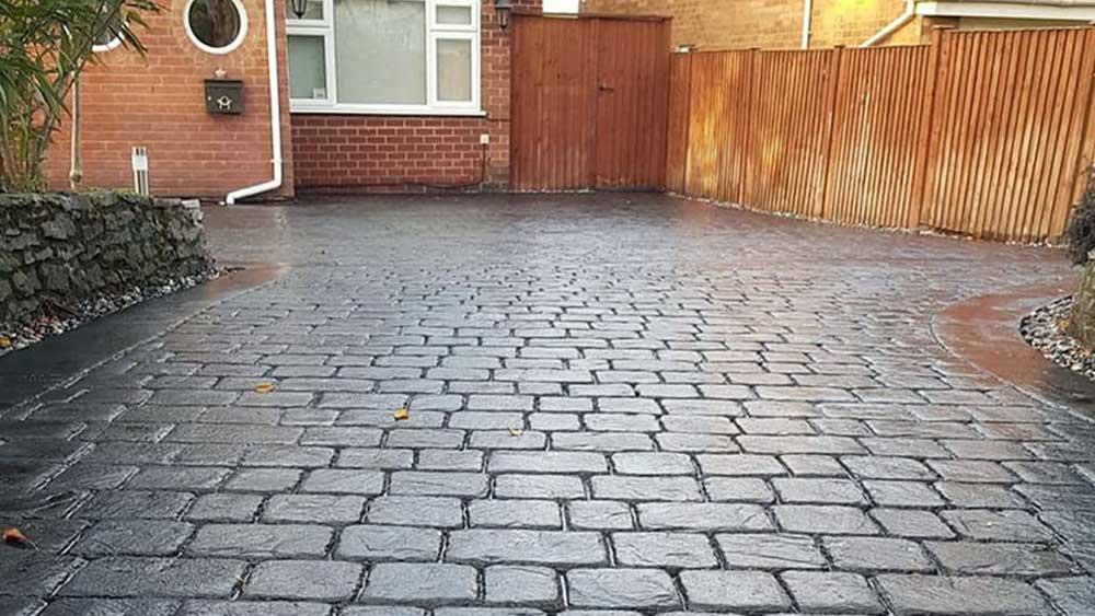 pavimento impreso adoquín