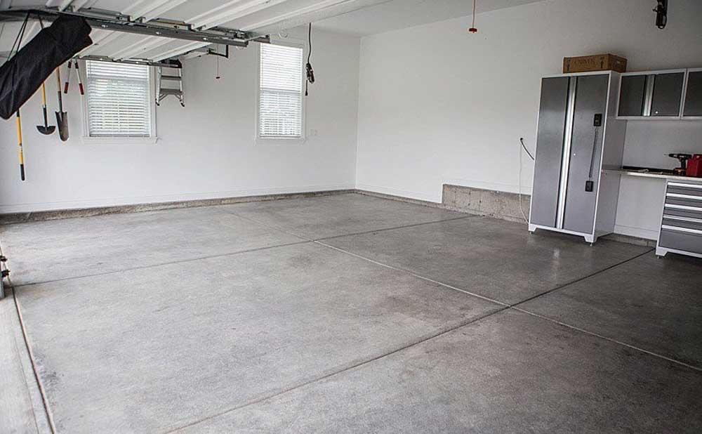 pavimento suelo hormigon garaje