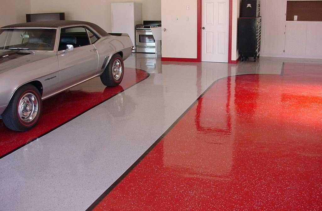 suelo garaje en resina